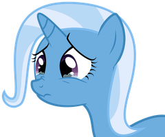 Trixie In Tears by ISkyArt