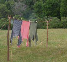 Civil War Stock: Clothesline by Spiteful-Pie-Stock