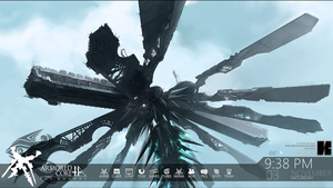 Armored Core for Answer for Rainmeter by vicariousVisionary