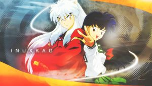 Inuyasha and Kagome // InuxKag Wallpaper by ichigoluvsrukia