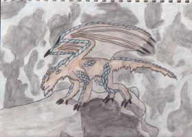 Dragon Wolf by ColinGhastslayer