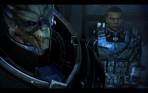 ME3 Garrus and Vega by chicksaw2002