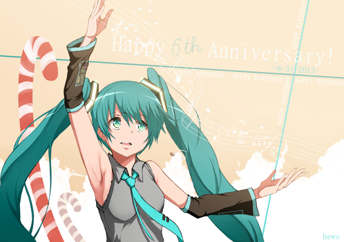 6th Anniversary - SOUND OF THE FUTURE by Hews-HacK