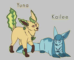 Kailee and Yuna by Tinnypants