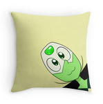 Peridot Pillow by Koalacubes