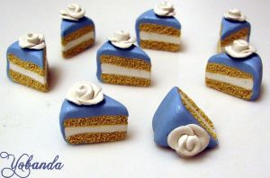 Wedding Cake Slices by yobanda