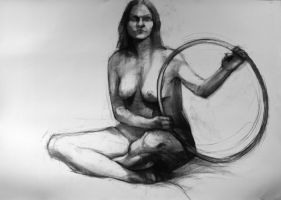 Charcoal on paper 10 by sebtuch