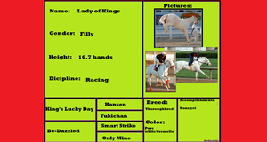 Lady of Kings Pedigree by HonchoFreddy