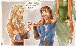 Kili's new beard by CaptBexx