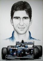 Damon Hill Tribute by machoart