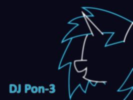 DJ Pon-3 Wallpaper by darkstarr48