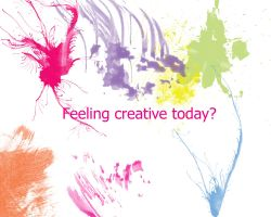 Feeling Creative Today? by Stathis