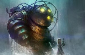 Bioshock illustration by TylerEdlinArt