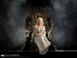 Daenerys Targaryen_ Game of thrones wallpaper by DarkElektra