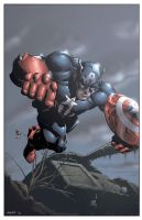 Captain America by DashMartin