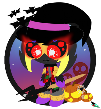 Clyde as a Cursed Scarecrow (Halloween Special) by CloudyZu