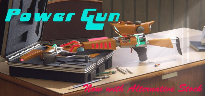 The Power Gun by MrRacoon