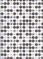 12 by 12 Black White Circles by FredtheCow-Stock