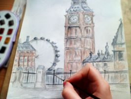 London-work in progress by yellowforehead