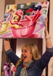 Andrea Libman is SO EXCITED About This Painting by lupiniastudios