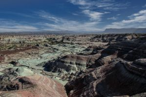 Ischigualasto II (Valley of the moon) by AlejandroCastillo