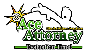 Ace Attorney Cilan game logo by Marini4