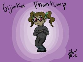 Gijinka Phantump by GingerBaribuu