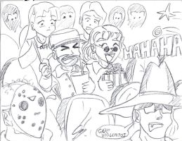 viewing THE EXPENDABLES by piojote