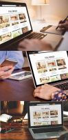 Working on Laptop Mockup Template by loswl