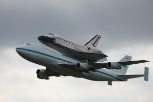 Endeavour Houston Flyover 1 by LongBow986