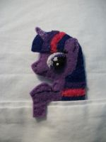 Twilight Sparkle Alicorn Handmade Pocket Pony 1b by grandmoonma