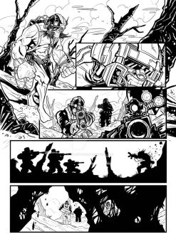 Wolverine page1 by Faber-RedBeard