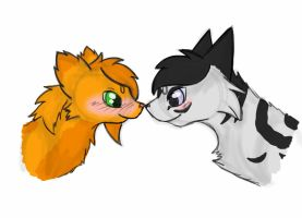 (KaD) Future!Honey x Future!Wolf by TheClansOf-TheValley