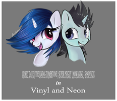 Vinyl and Neon by StrangeMoose