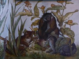 Aesop's Fables: The Wise Monkey by mickyjenver