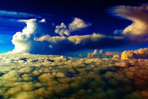cloudscape by Willsdarklady