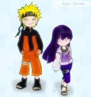 NaruHina by agrias color 2nd by Quel-chan