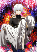 Tokyo Ghoul Season 2 Poster (No tipography) by MrZe1598