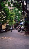 Old Quarter, Hanoi by mirfak