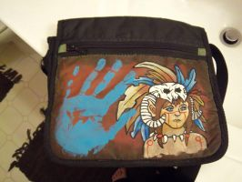 Cruddy Indian Bag by Mind-On-Autopilot