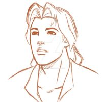 Sketch-John Smith by 23-tiny-wishes