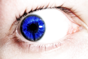 My Eye Colored by VyralVixen