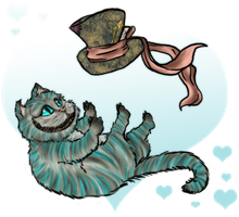 Cheshire Cat  for Monique by Best-Never-Knowing