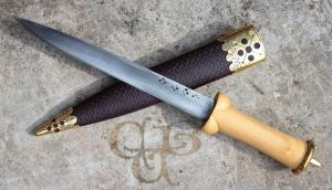 Replication of 14th c. bollock dagger by cybernuth