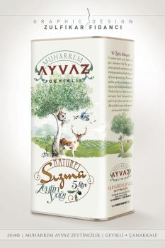 Geyikli Olive Oil Packaging Design by byZED