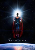 Man of Steel Poster by DISENT