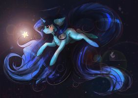 Commission: Shining Star by Wilvarin-Liadon