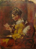 The Reader - Fragonard study by Deino