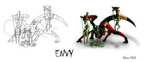 WOF Concept art - Envy by Chaos--Child