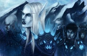 March of the Death Knights by neylica